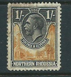 Northern Rhodesia  SG 10 Used