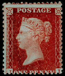SG29, 1d red-brown, LC14, NH MINT. Cat £225+