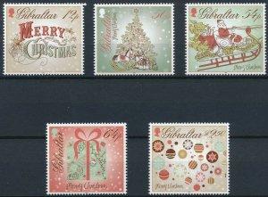 [1172] Gibraltar 2013 Christmas good Set very fine MNH Stamps