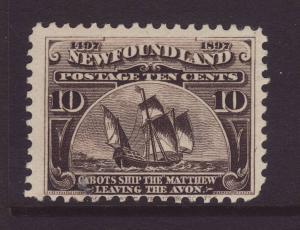 1897 Newfoundland 10c Mint