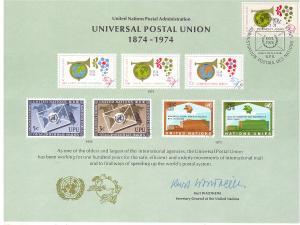 UN Souvenir Card - SC05 - Geneva