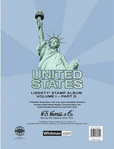 HE Harris USA LIBERTY 1 STAMP PAGES Part D 2017 - 2019 ( Liberty I - Pages Only)