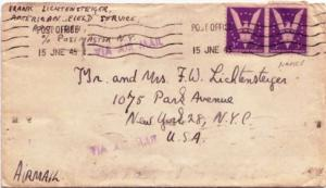 United States 1940's Commemoratives 3c Win The War (2) 1945 Post Office [A.P....