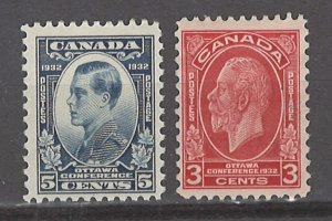 COLLECTION LOT # 3093 CANADA #192-3 MNH 1932 CV+$16
