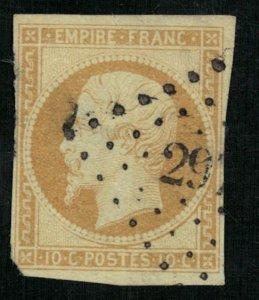 France, 1853-1861 Emperor Napoléon III,  10 cents, EMPIRE FRANC (4343-Т)