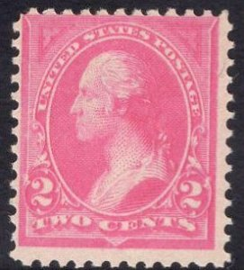 US Stamp Scott #248 Mint Never Hinged SCV $90