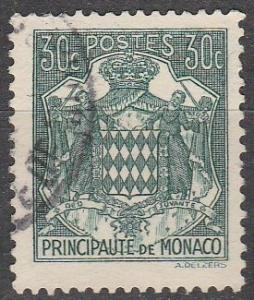 Monaco #150A  F-VF Used (K983)