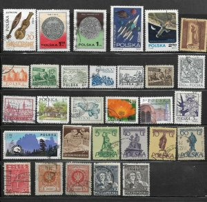 Poland--  Nice Mix of Used /stamps  Lot #2