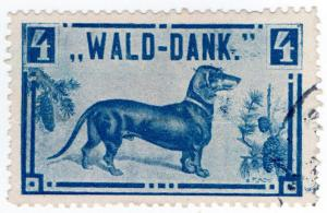 (I.B) Austria Cinderella : Forest Charity 4fl (dachshund)