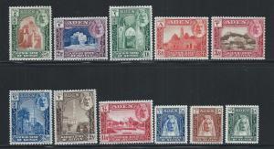 ADEN - KATHIRI STATE OF SEIYAN SC# 1-11 FVF/LH 1942