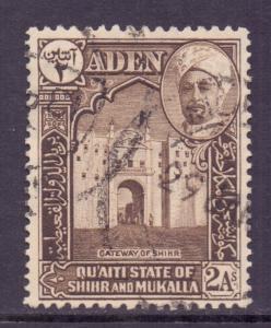 Aden Mukalla Scott 5 - SG5, 1942 Sultan 2a used