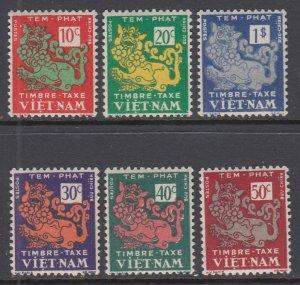 Viet Nam J1-J6 MNH VF