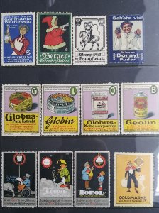 World Exhibition, Convention, Stamp Show, Poster, Label stamp Collection LOT #Q8