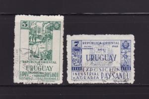 Uruguay 564-565 U Various (A)