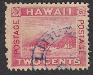 HAWAII 2c with part strike LIHUE cds in greyish blue.......................27793