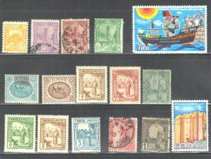 TUNISIA LOT #1  MH & USED SEE SCAN