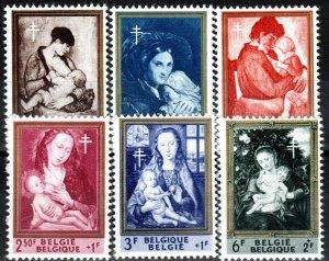 Belgium #B699-704 MNH CV $5.90 (X6987)