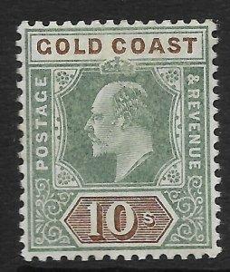 GOLD COAST SG47 1902 10/= GREEN & BROWN MTD MINT