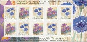 Finland 2001 Sc 1132a Flowers CV $25