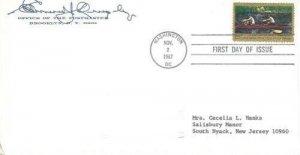 1335 5c THOMAS EAKINS - Brooklyn Postmaster Quigley