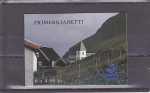 Faroe Islands  Scott#  251a  MNH Booklet