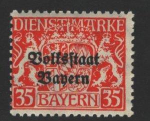 Bavaria Sc#O28 MH