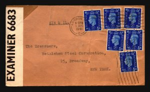 Great Britain - 3 WW2 Censor Covers  / See Images For Condition (12) - Z16215