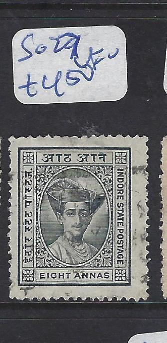 INDIAN NATIVE STATE INDORE   (P3012B)  SG  27   VFU