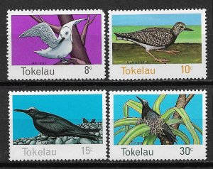 Tokelau MNH 57-60 Birds Of Tokelau