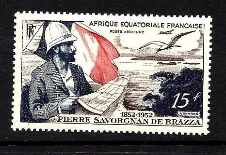 French Equatorial Africa  Scott # C-35 MNH
