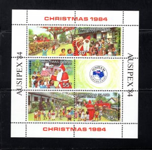 Christmas Island, 161,  Souvenir Sheet, VF,  Unused,  CV $2.60  ..... 1370053