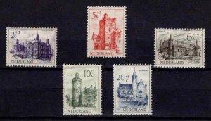 1951 Netherlands Cultural & Social Relief Fund (Castles) Set