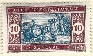 Senegal Sc #86 F-VF Mint OG hr French Colonies are Hot!