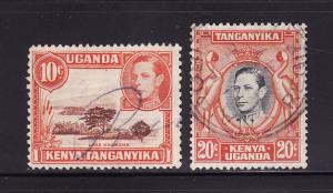 Kenya, Uganda, Tanzania 69, 74 U King George VI (C)