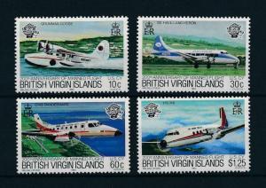 [98069] British Virgin Islands 1983 Aviation Aircrafts  MNH