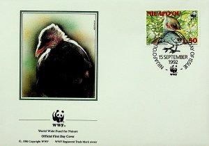 Niuafo'ou Tonga FDC Bird 1992