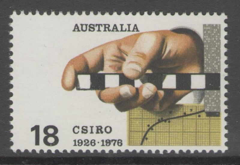 AUSTRALIA SG622 1976 COMMONWEALTH SCIENTIFIC & INDUSTRIAL RESEARCH ORG. MNH