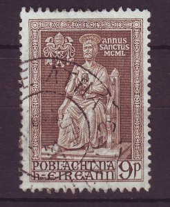 J24565 JLstamps 1950 ireland hv of set used #144 statue has scn old scv reverse