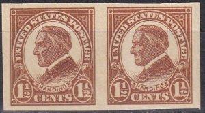 US #576 MNH Pair  CV $6.00 (Z6125)