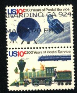 USA #1573,1575   Pair   used 1975 PD