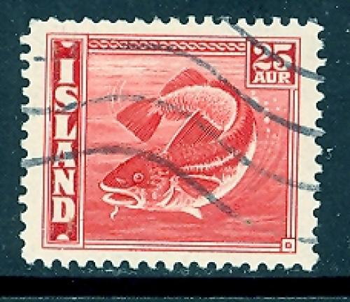 Iceland 224 used SCV $ 0.20 (RS)