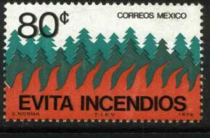 MEXICO 1146, Forest Fire Prevention Campaign. MINT, NH. VF.