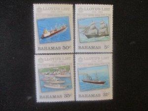Bahamas #555-58 Mint Never Hinged WDWPhilatelic (H6L8)