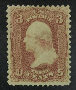 MOMEN: US STAMPS #65 MINT OG H LOT #51680