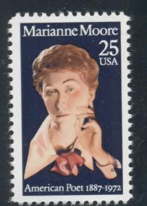 #2449 25¢ MARIANNE MOORE LOT OF 400 MINT STAMPS, SPICE UP YOUR MAILINGS!