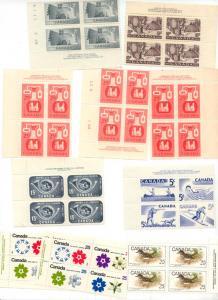 Canada USC #301//511a Mint F+-VF-NH Cat. $128.50 1950-1970