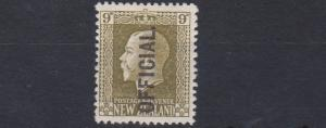 NEW ZEALAND  1915 - 27       S G 0104     9D   SAGE GREEN    MH