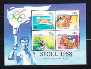 New Zealand B133a Set MNH Sports, Olympics