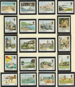 Guernsey  mnh sc 283 - 302