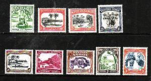 Samoa-Sc#166-74-Unused NH og  set-KGV-1935-